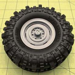 "Download free STL Goodson's Hobbies 1.9 Beadlock Wheel 08 - ""Old'S Cool Steel"", goodsons_hobbies"
