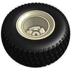 Télécharger fichier STL gratuit Pneus et roues des modèles de tracteurs de jardin 23 et 16 1/25, goodsons_hobbies