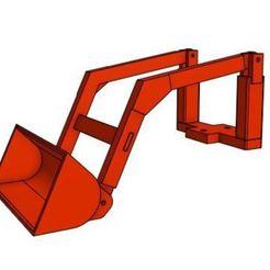 Loader GT4.JPG Télécharger fichier STL 1/25 GT4 Attache pour chargeur • Design à imprimer en 3D, goodsons_hobbies