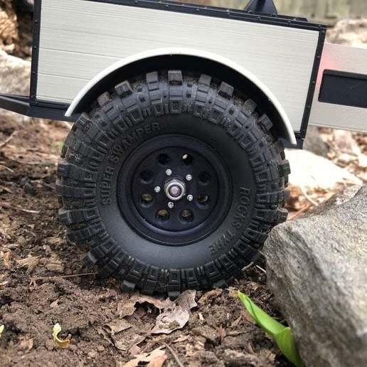 Imprimir en 3D gratis Goodson's Hobbies 1.9 Beadlock Wheel 11 Trailer Version, goodsons_hobbies