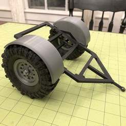 Download free 3D print files GH Scaler Trailer - Round Fenders, goodsons_hobbies