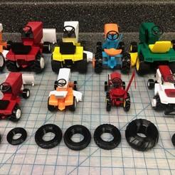IMG_5921.JPG Télécharger fichier STL Collecte massive de pneus 1/25 GT ! • Plan imprimable en 3D, goodsons_hobbies