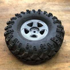 "Download free 3D printer model Goodson's Hobbies 1.9 Beadlock Wheel 01 - ""Lambo"", goodsons_hobbies"