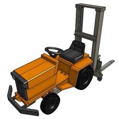 Descargar archivos 3D GT7F 1/25 Modelo de tractor de jardín, goodsons_hobbies