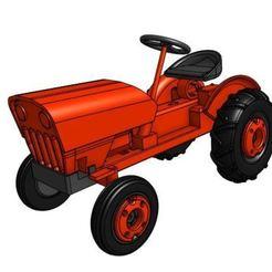 GT4 update.JPG Télécharger fichier STL Modèle de tracteur de jardin GT4 1/25 • Design imprimable en 3D, goodsons_hobbies