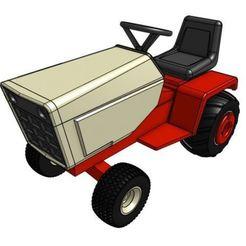 Télécharger plan imprimante 3D gatuit Modèle de tracteur de jardin GT2 1/25, goodsons_hobbies