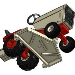 Télécharger fichier impression 3D Carter de tondeuse modèle 1/25 GT, goodsons_hobbies