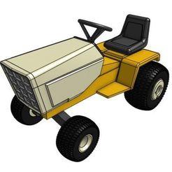 Télécharger fichier imprimante 3D gratuit Modèle de tracteur de jardin GT2 LWB 1/25, goodsons_hobbies