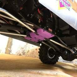 Descargar modelo 3D gratis Center Skid para Redcat Racing Everest Gen7, goodsons_hobbies