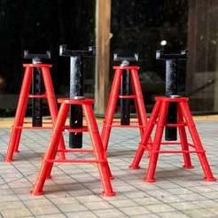 Descargar diseños 3D gratis 1/10 Balanza RC 10 Ton Jack Stands, goodsons_hobbies