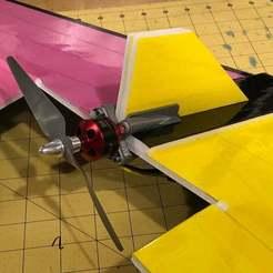 b47da97c555b4464f5856d732c384314_display_large.JPG Download free STL file Flying Wing Motor Mount • 3D printable object, goodsons_hobbies