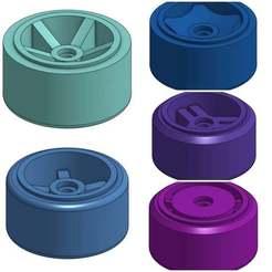 Download free 3D printing designs Wheels for 1:64 Hotwheels and Diecast - Medium, goodsons_hobbies