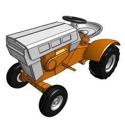 Imprimir en 3D Modelo de tractor de jardín GT6 1/25, goodsons_hobbies