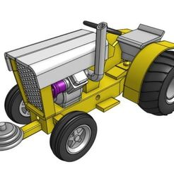 Stl Files For 3d Printer Tractor Pull Cults