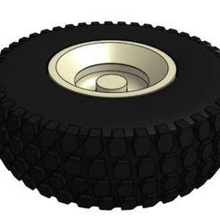 Descargar diseños 3D gratis 1/25 GT 16x4.5x8 Neumáticos y ruedas para césped, goodsons_hobbies