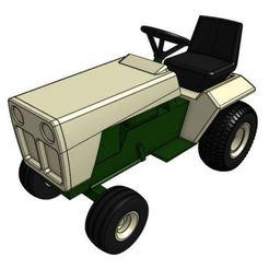 Télécharger modèle 3D gratuit Modèle de tracteur de jardin GT1 1/25, goodsons_hobbies