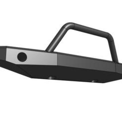 "Descargar modelos 3D gratis Parachoques delantero ""High Woods"" para orugas RC, goodsons_hobbies"