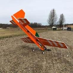 Impresiones 3D gratis Tren de aterrizaje universal suspendido bajo las alas, goodsons_hobbies