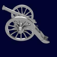 CanonAllin1.jpg Télécharger fichier STL Canon Gribeauval 1er Empire - Cannon 1st Empire • Objet à imprimer en 3D, ChrisThor