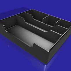 Drawer-E3 v12.png Download free STL file Ender3 Storage Drawer (Drawer for Ender 3) • 3D printer model, ChrisThor