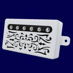 Télécharger STL gratuit Capots micros Humbucker Guitare, ChrisThor