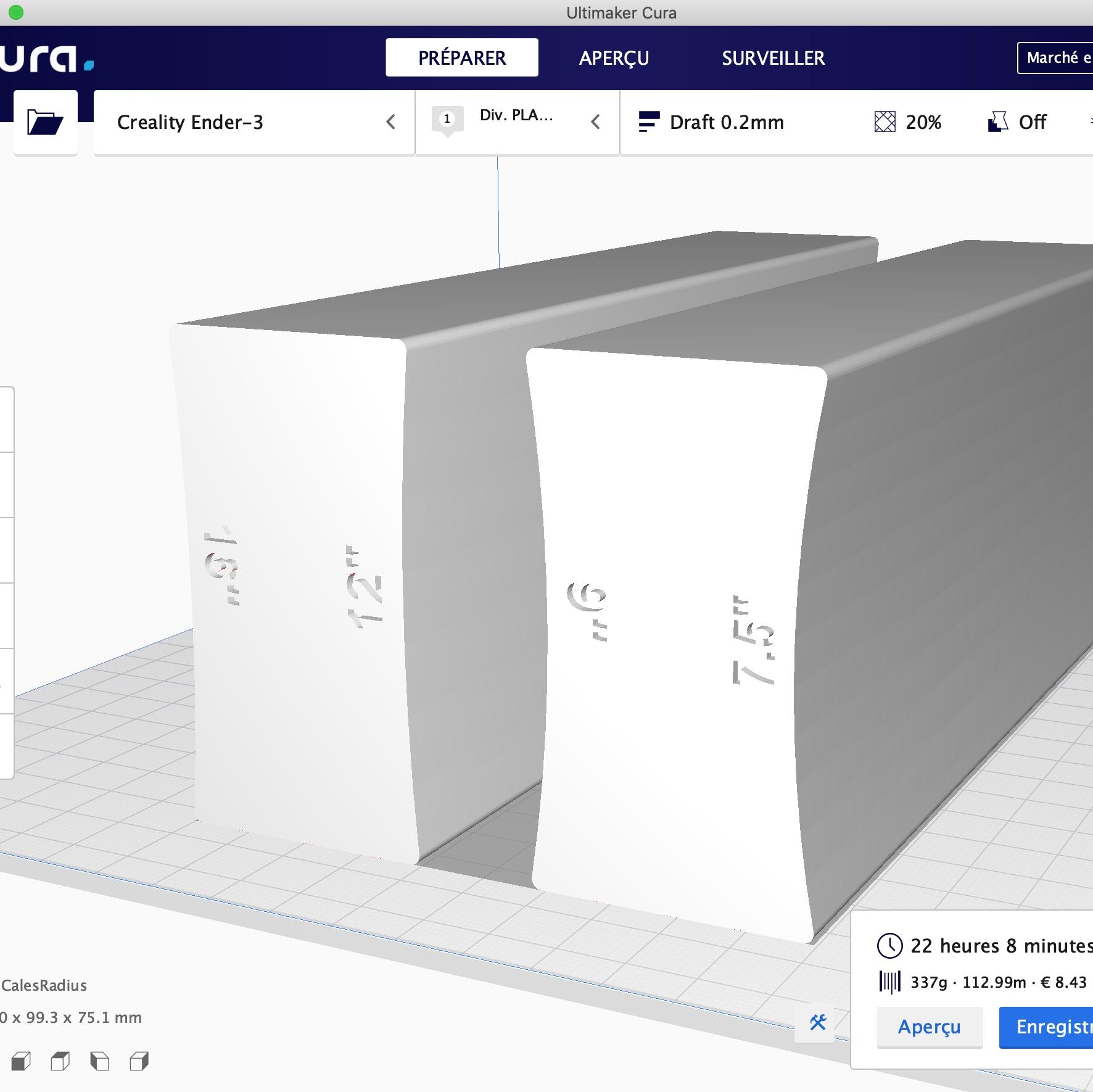 RadiusCalesC.jpg Download free STL file Guitar Radius Sanding Wedges • 3D printing design, ChrisThor