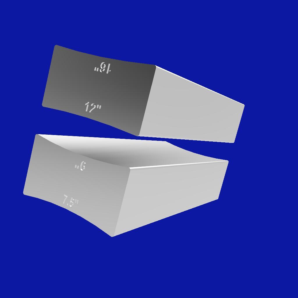 RadiusCalesR.jpg Download free STL file Guitar Radius Sanding Wedges • 3D printing design, ChrisThor