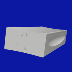 "Download free 3D printing models Radius sanding block 14-20"" guitar fingerboard, ChrisThor"