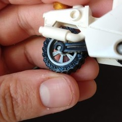 IMG_20200928_160652110.jpg Download STL file LEGO Motorcycle Wheel • 3D printing object, alfr3design