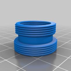 1af2428471b7387bb5655ec289c0fb59.png Télécharger fichier STL gratuit Adaptateur de robinet à levier unique pour filtre à eau Mâle 24mm à Mâle 21mm • Plan pour impression 3D, alfr3design