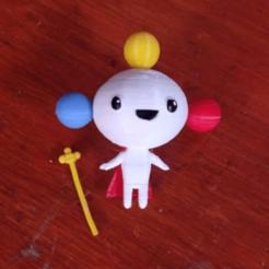 Download STL file Rainbow King Vera and the Rainbow Kingdom • 3D printable design, alfr3design