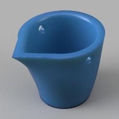 bucket.jpg Download STL file Miniature Bucket • 3D print model, alfr3design