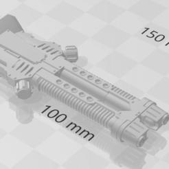 Plasma destroyer.png Télécharger fichier STL gratuit Des armes lourdes pour un carnivore • Design pour impression 3D, Kalechaoslord