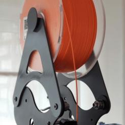 Artillery Genius Easy Spool Adapter.png Télécharger fichier STL gratuit Adaptateur de bobine facile pour le génie de l'artillerie • Design imprimable en 3D, Kronosrey