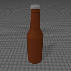 Botellin.jpg Download free STL file Beer bottle • Model to 3D print, Kronosrey