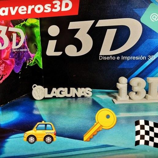 Descargar modelos 3D gratis Llavero Logo VW Lagunas, luis_Vazquez