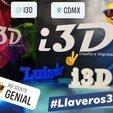 Download free 3D printer model Luis Key ring, luis_Vazquez