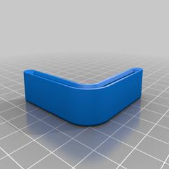 Download free 3D printing templates Metal Shelving Corner Cap, superbenk