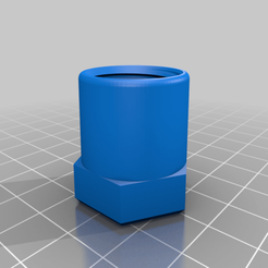 "0.5_NPT_Female_Cap_v1.png Download free STL file 1/2"" NPT Cap & Plug • 3D printing template, superbenk"