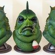 Download 3D printer designs Donnie LaGoon Bust, AijouART