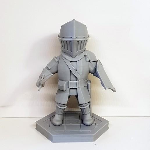 Download free 3D printing models Chibi Chosen Undead, AijouART