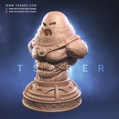 Download 3D printer files Juggernaut Bust , Tdsaber