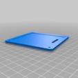Download free 3D printer designs Cover for 4x4 membrane keypad, t0b1