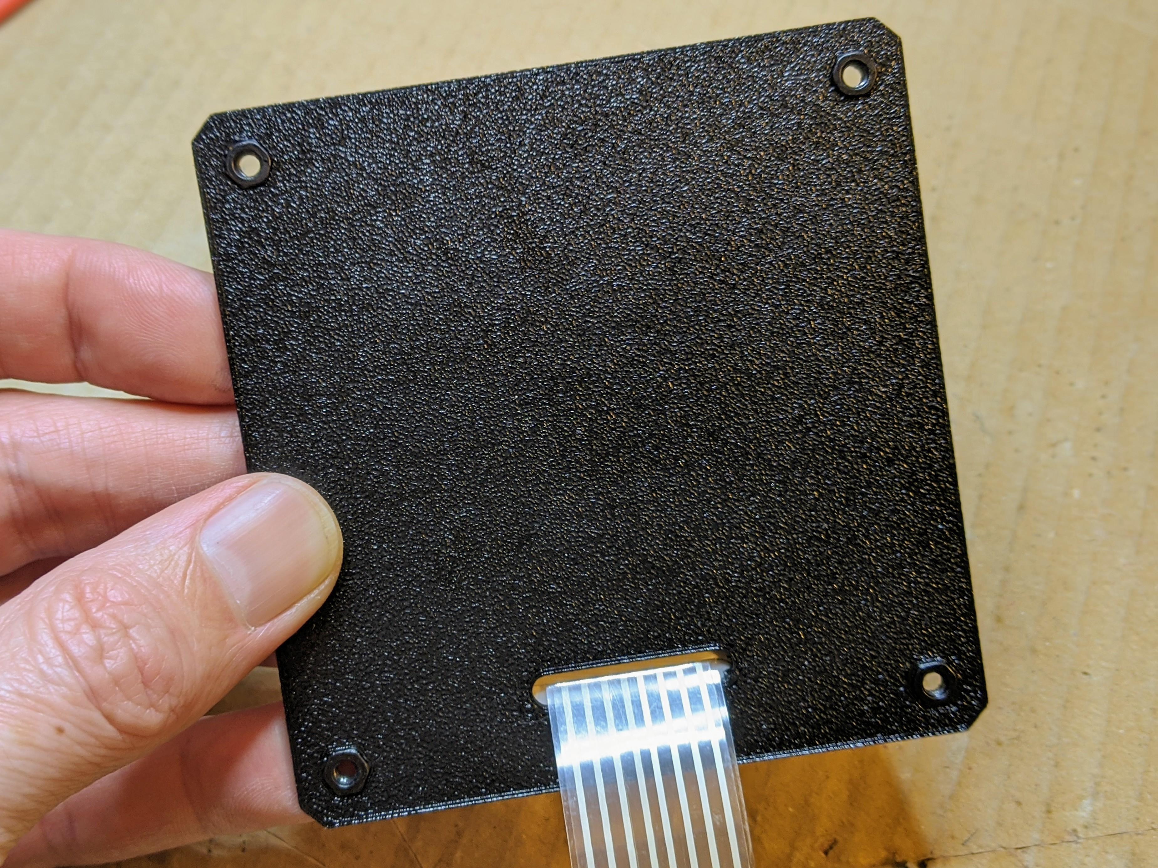 keypad-base-002.jpg Télécharger fichier SCAD gratuit Couverture pour clavier à membrane 4x4 • Plan imprimable en 3D, t0b1