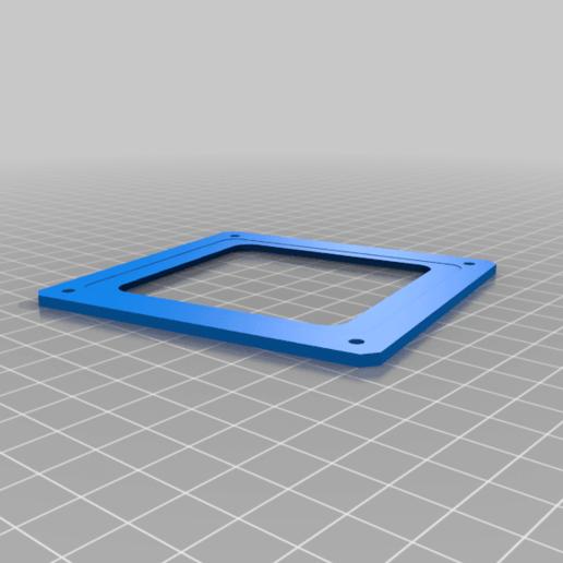 keypad-cover.png Télécharger fichier SCAD gratuit Couverture pour clavier à membrane 4x4 • Plan imprimable en 3D, t0b1
