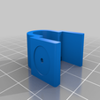Download free SCAD file Cable holder for IKEA IVAR shelf • Template to 3D print, t0b1
