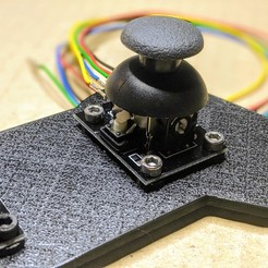 Download free 3D printing templates Joystick controller test bracket, t0b1