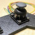 003.jpg Download free SCAD file Joystick controller test bracket • 3D printer object, t0b1