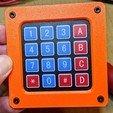 keypad-cover-001.jpg Télécharger fichier SCAD gratuit Couverture pour clavier à membrane 4x4 • Plan imprimable en 3D, t0b1