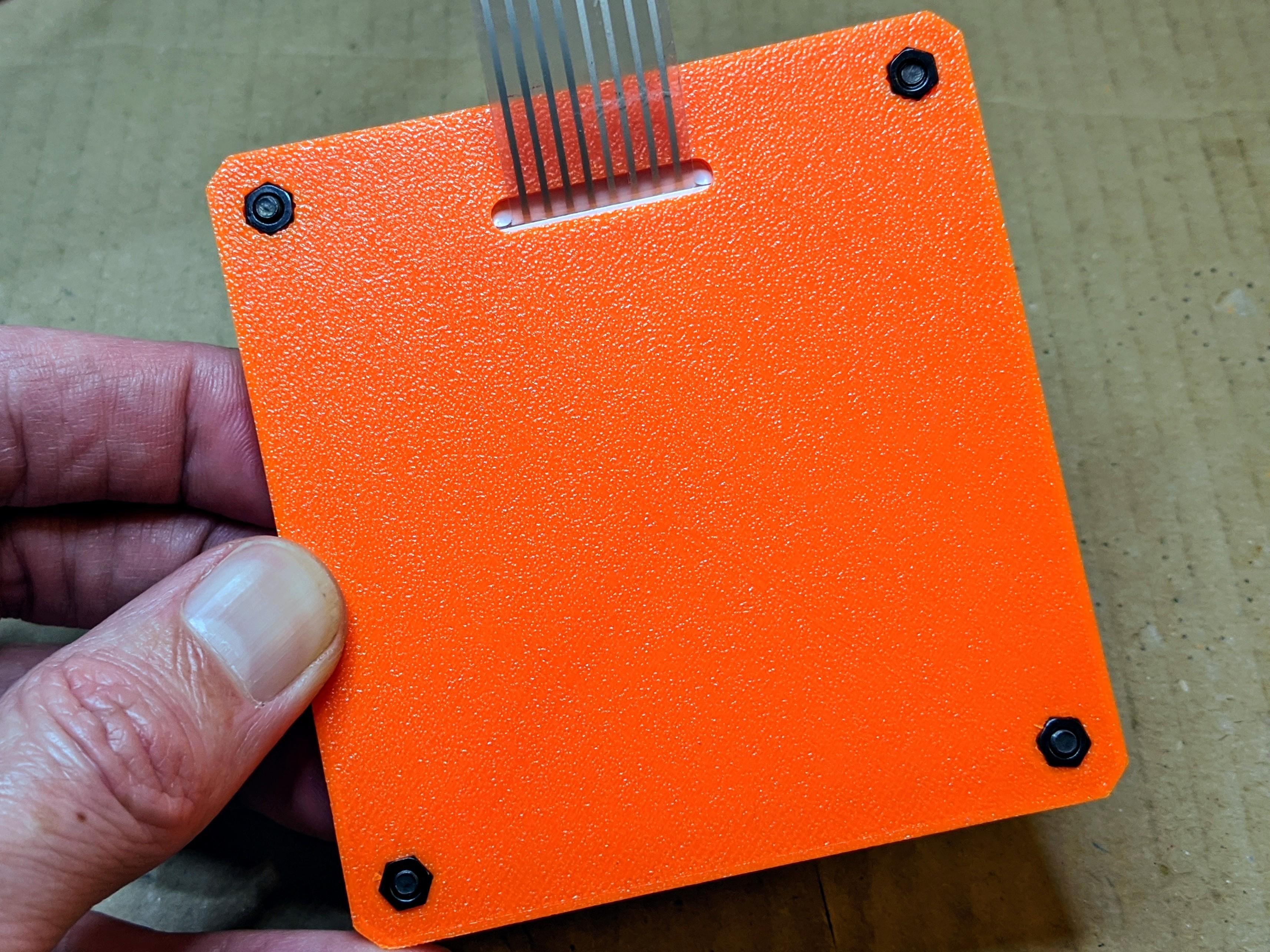 keypad-base-001.jpg Télécharger fichier SCAD gratuit Couverture pour clavier à membrane 4x4 • Plan imprimable en 3D, t0b1